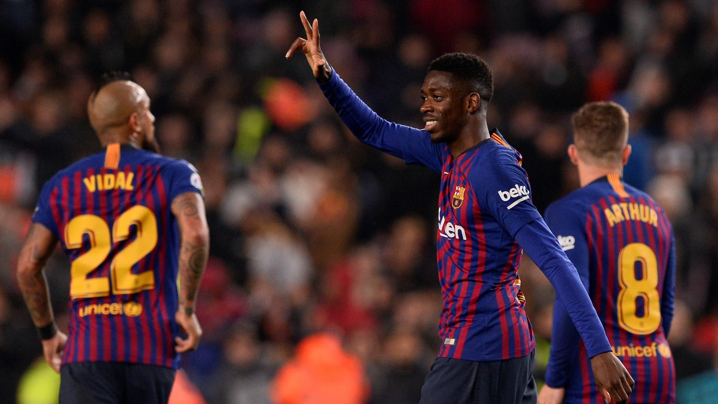barcelone v levante r u00e9sum u00e9 du match  17  01  2019  coupe du