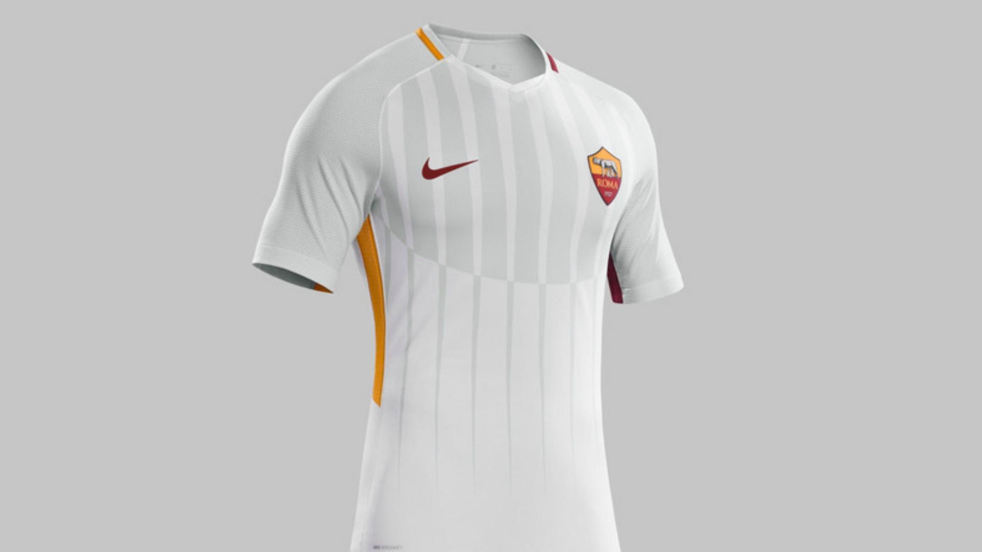 Roma svelata la maglia da trasferta per la stagione 2017 for Interno 5 b b roma