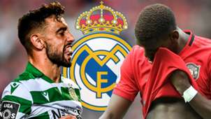 Bruno Fernandes Paul Pogba Sporting Real Madrid