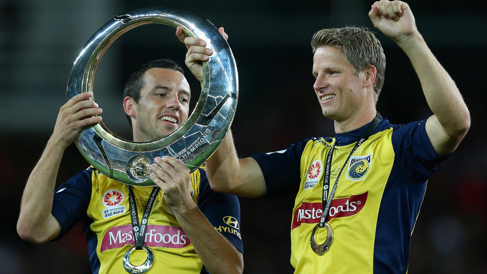 John Hutchinson Central Coast Mariners v Western Sydney Wanderers A-League 21042013