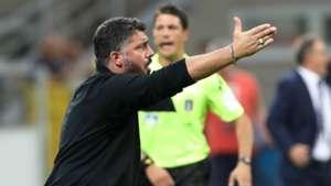 Gennaro Gattuso Milan Atalanta