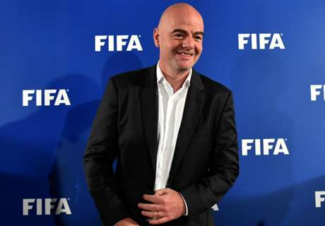 Infantino pledges 'best World Cup ever' in Qatar