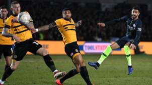 Riyad Mahrez - Newport County vs. Manchester City