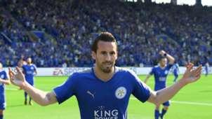Christian Fuchs Leicester FIFA 18 screenshot