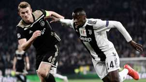 De Ligt Matuidi Juventus Ajax Champions League
