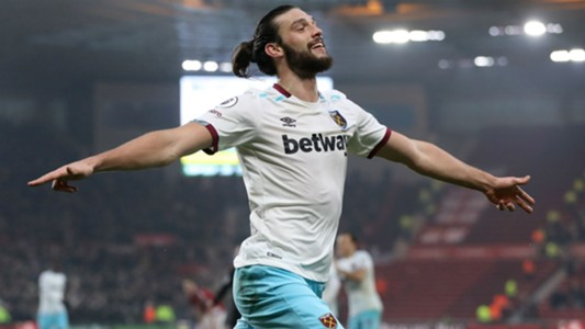 Andy Carroll West Ham vs Middlebrough