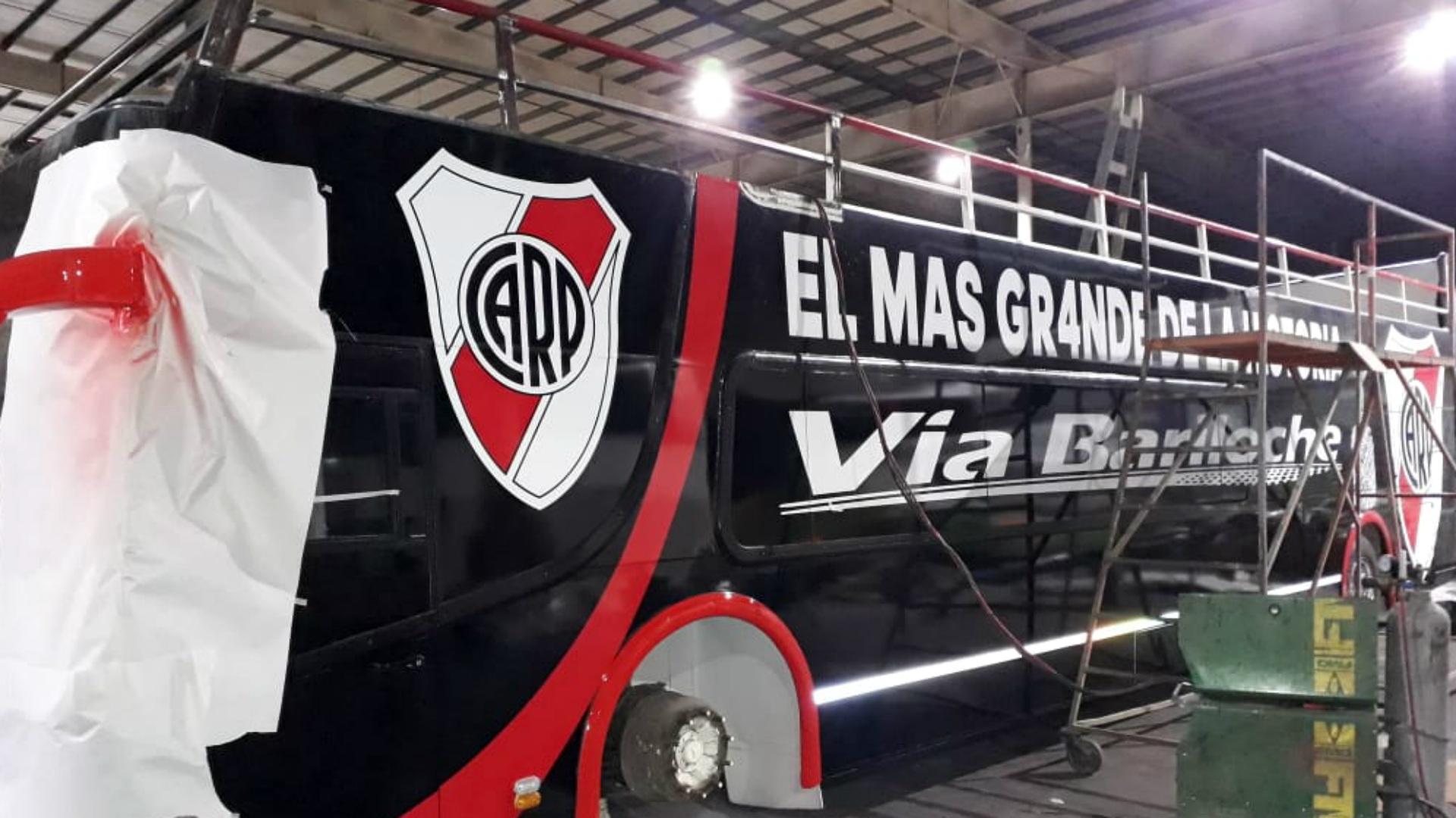 River Plate micro festejo campeon 2018