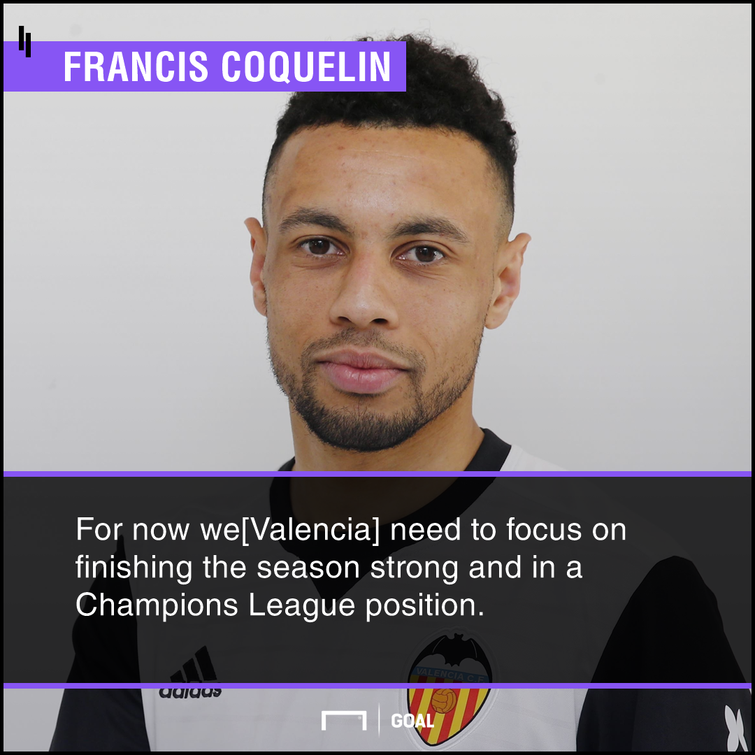 Francis Coquelin on Valencia priority this season