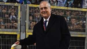 Claudio Lotito Atalanta Lazio