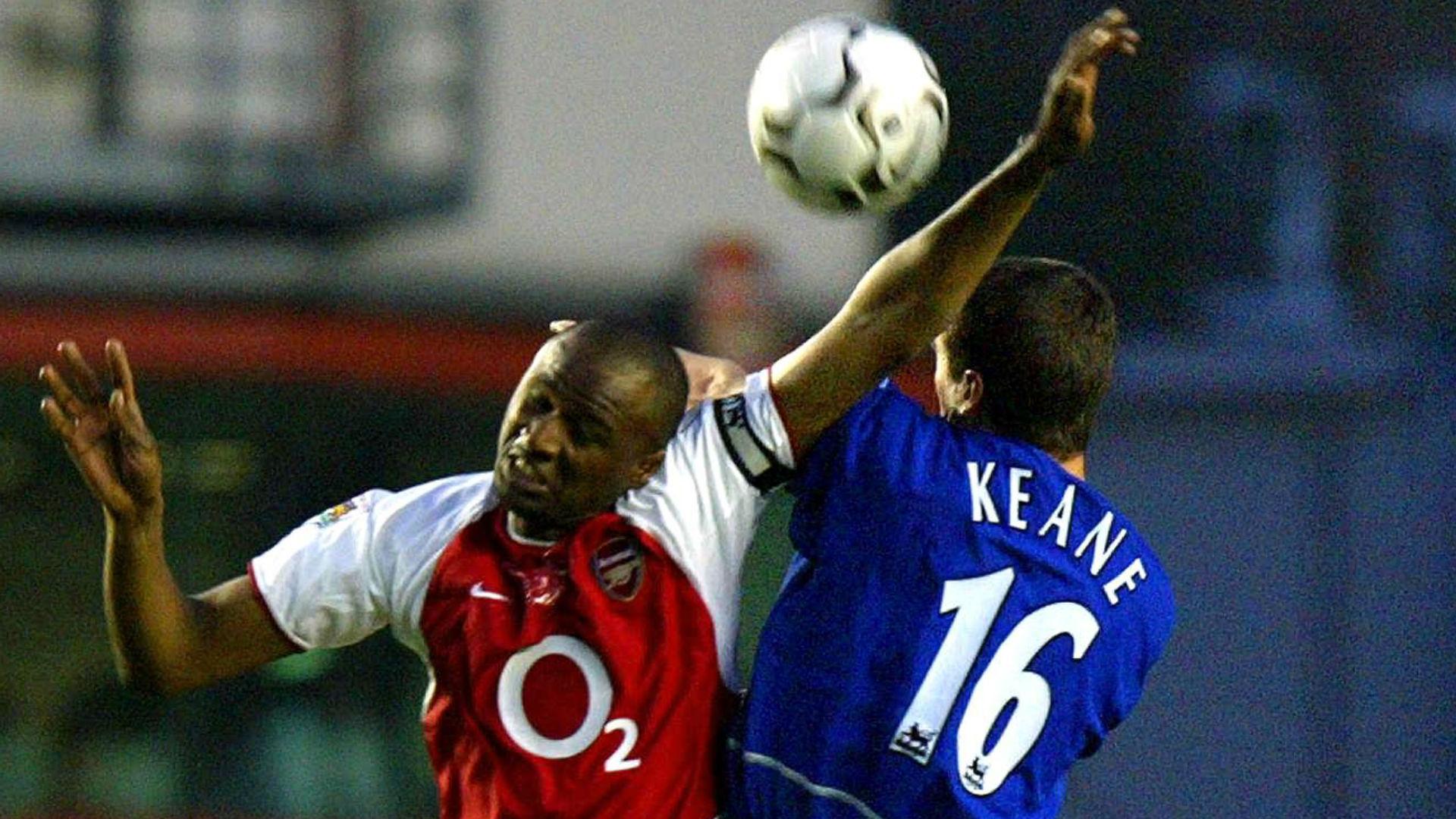 Patrick Vieira Arsenal Roy Keane Manchester United 2003