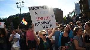 Manchester tribute terror attack