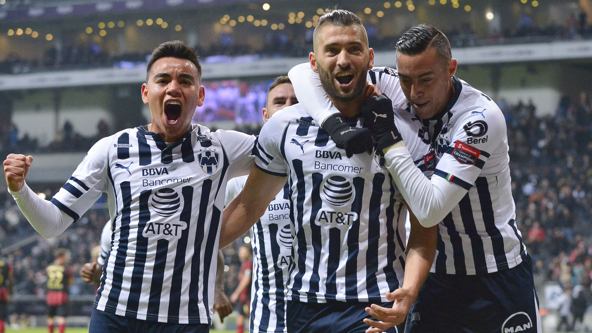 Nicolas Sanchez Monterrey Atlanta Concacaf Champions League 2019