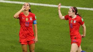 Alex Morgan Rose Lavelle USWNT England Women's World Cup 2019