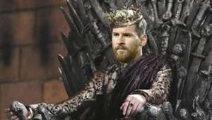 Messi Game of Thrones