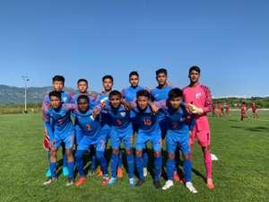 India U-15 vs Qatar