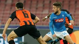 Mertens Napoli Shakhtar Champions League