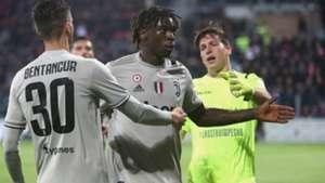 Moise Kean Cagliari Juventus
