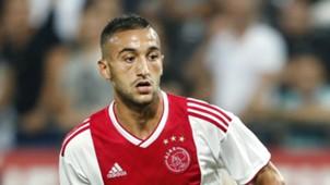 Hakim Ziyech, Ajax, 08012018