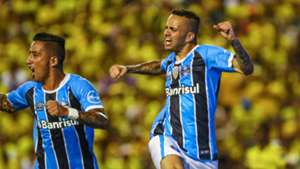 Luan Guilherme Lucas Barrios Barcelona SC Gremio Copa Libertadores 25102017