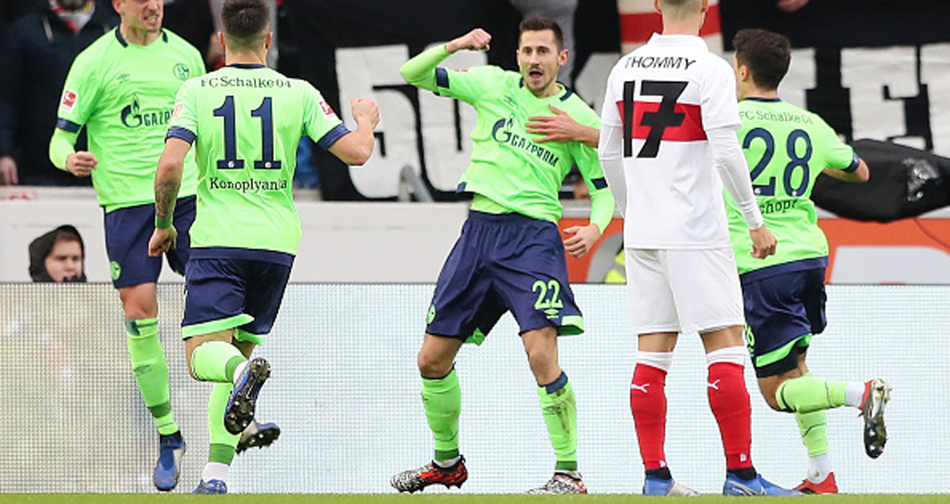 Steven Skrzybski Stuttgart Schalke
