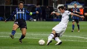 Bale Zanetti Inter Tottenham 2010