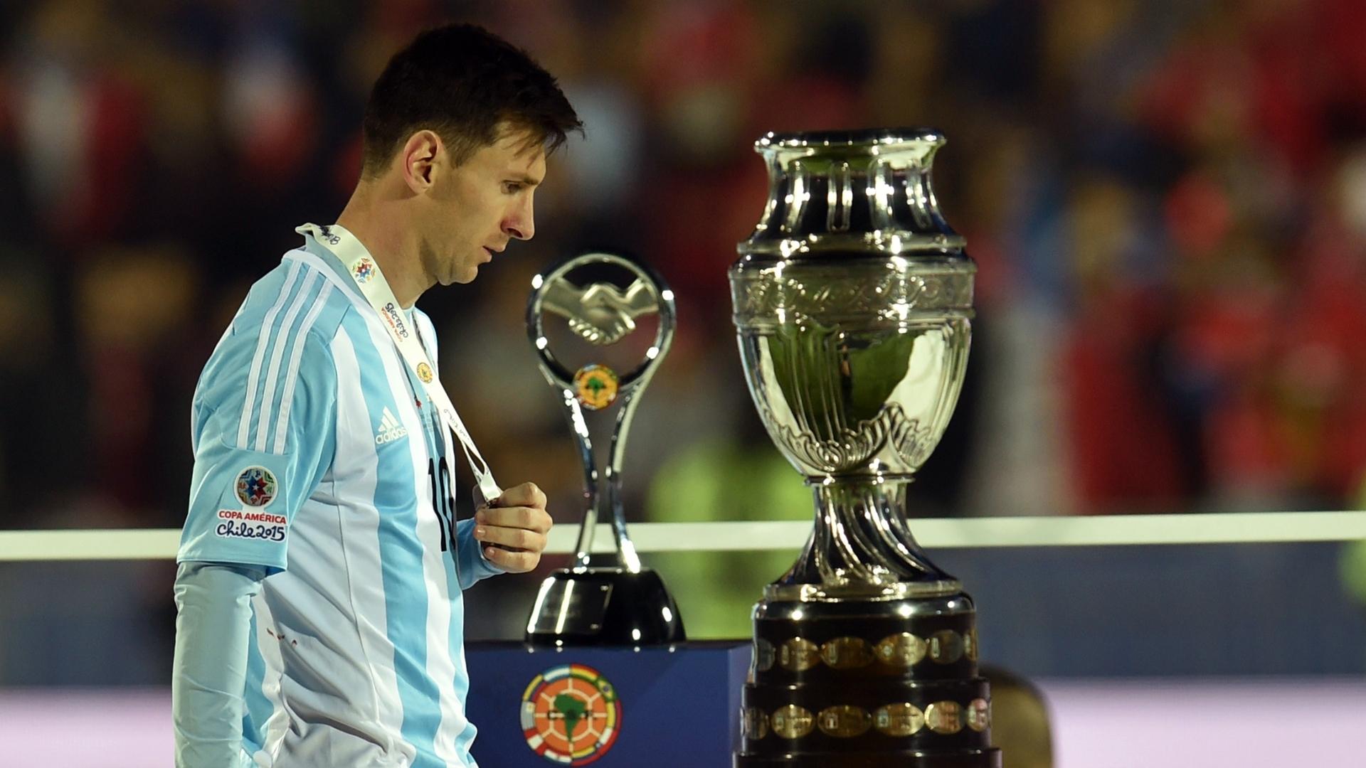 Lionel Messi - Argentina : Copa América 2015