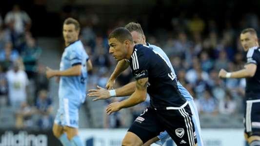 James Troisi Melbourne Victory v Sydney FC A-League 26012017
