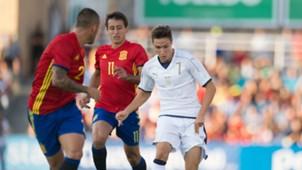 Federico Chiesa Spain Italy Friendly match
