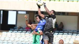 Jacques Tuyisenge of Gor Mahia v New Star of Cameroon.