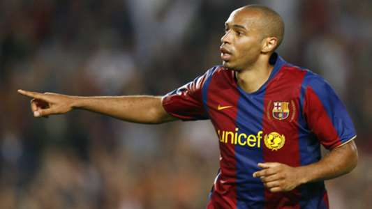 thierry henry fc barcelona primera division 091907