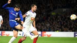 Morata Goal Europa Chelsea Vidi