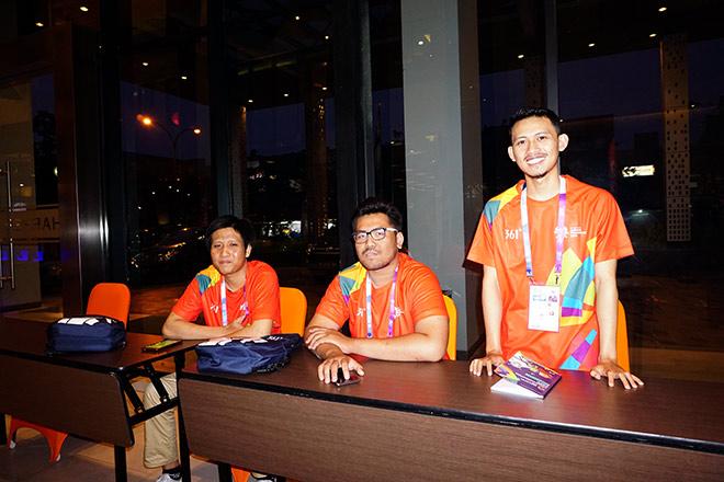 Khách sạn của Olympic Việt Nam ở Indonesia (1)