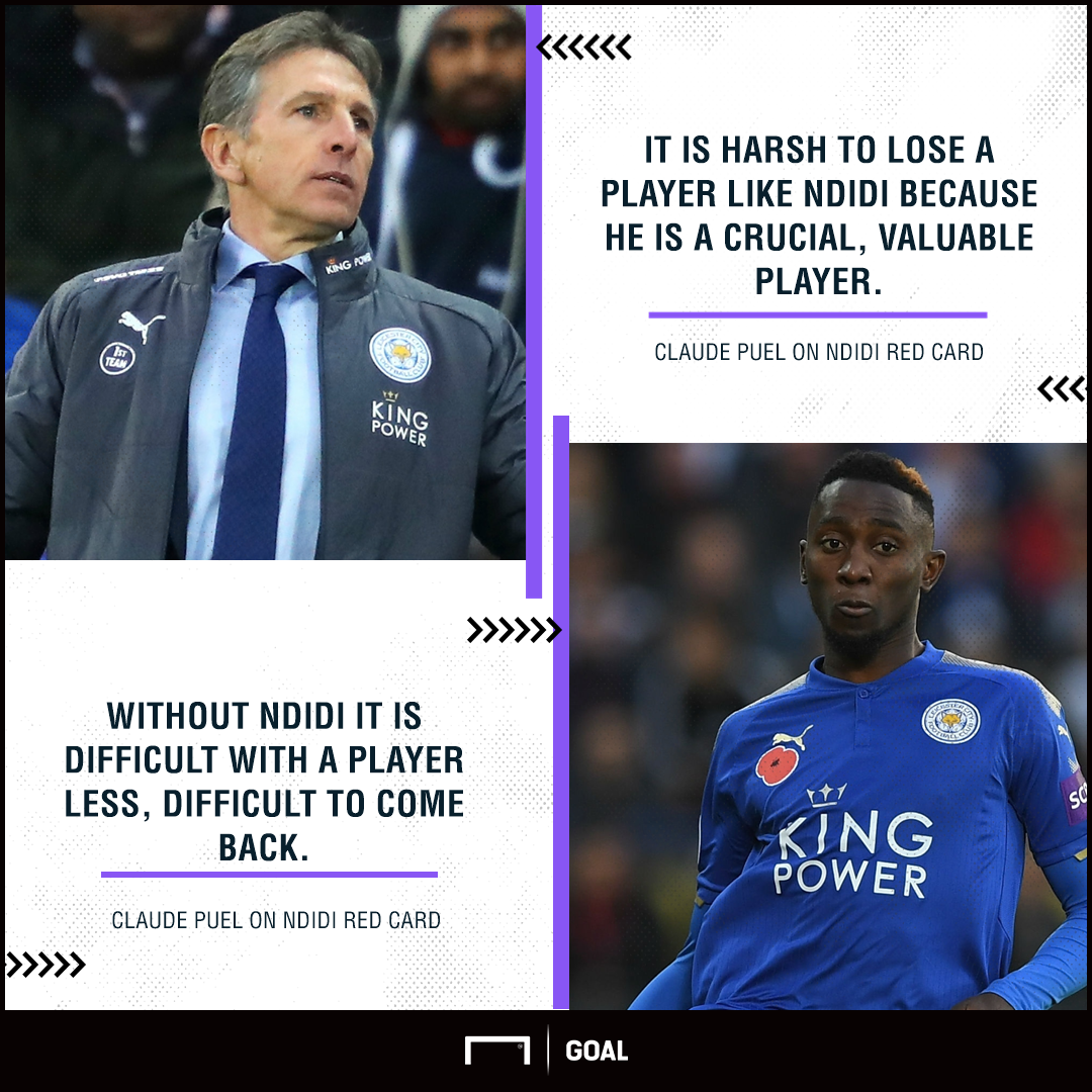 Leicester's Claude Puel keen to keep Riyad Mahrez in January window