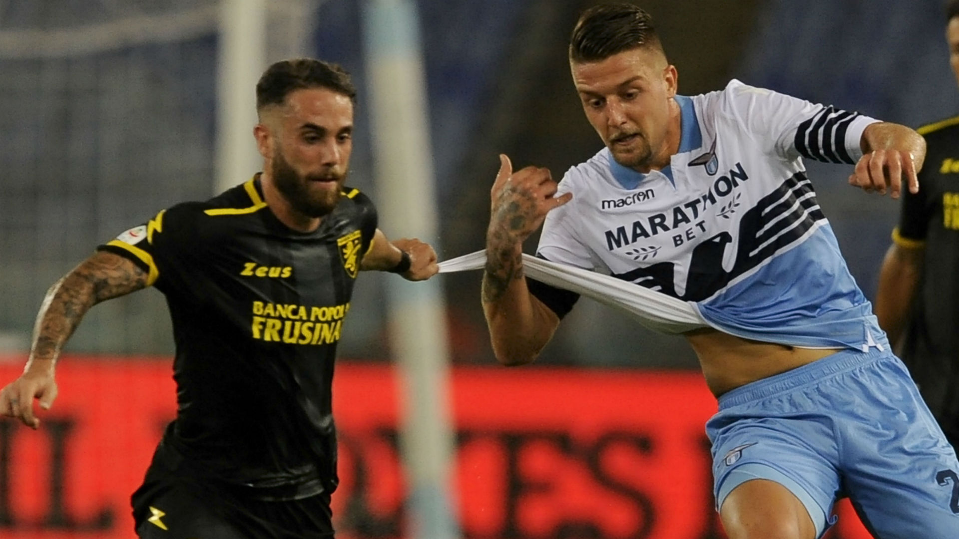 Milinkovic Savic Lazio Frosinone Serie A