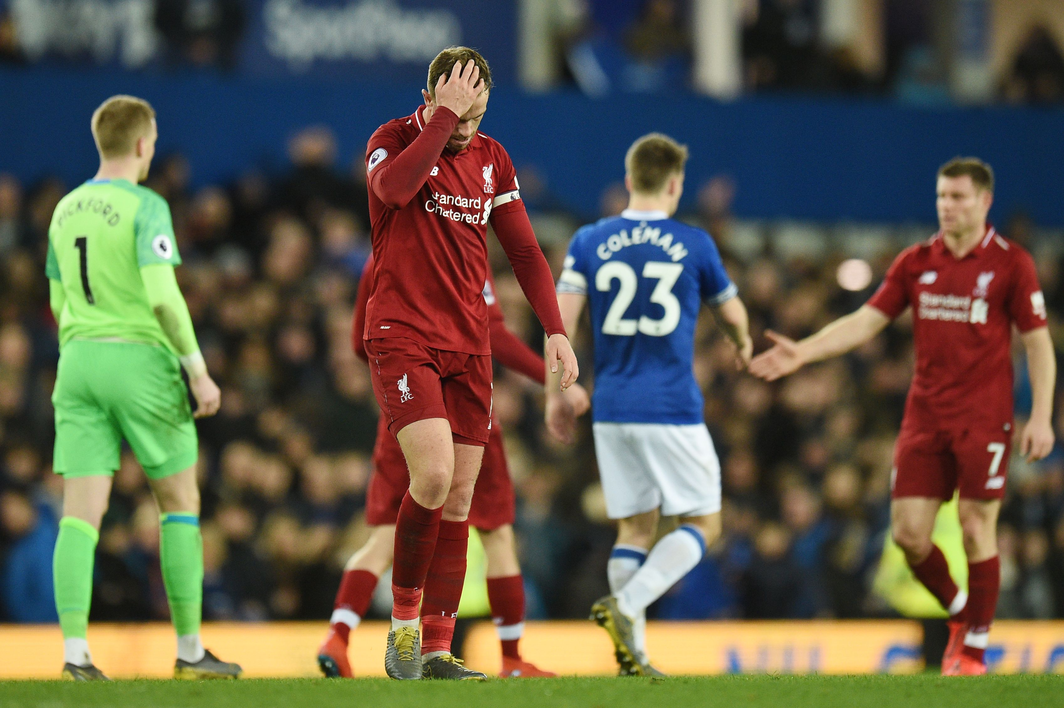 Everton Liverpool English Premier League 03/03/19