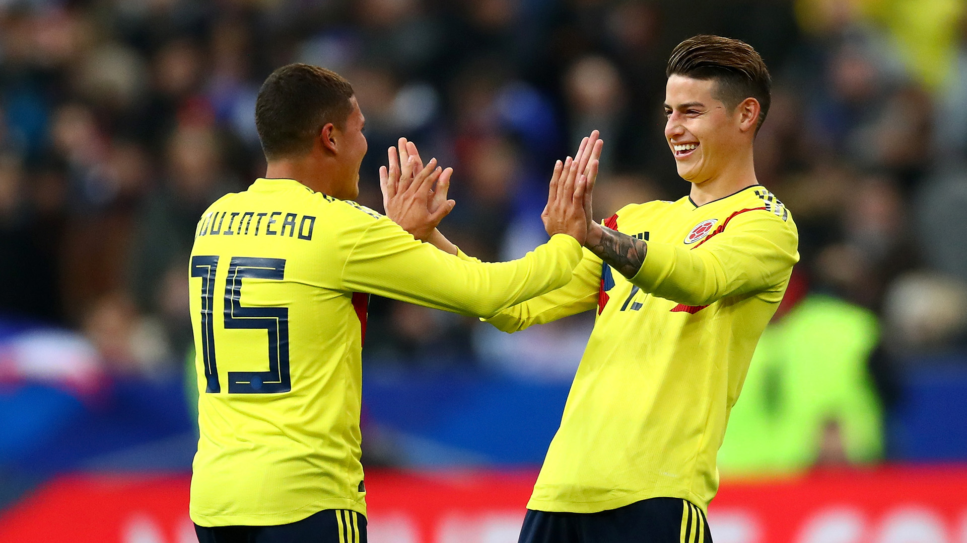 Colombia's James Rodriguez will not play vs. Japan after calf injury