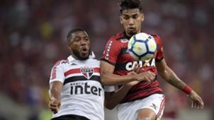 Lucas Paqueta Jucilei Flamengo Sao Paulo Brasileirao Serie A 18072018