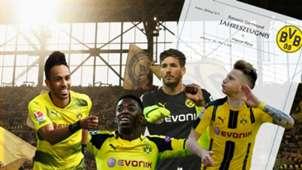 GFX Borussia Dortmund Zeugnis German
