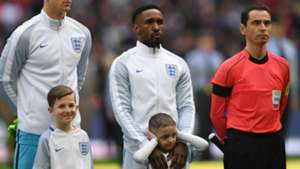Jermain Defoe Bradley Lowery England Lithuania