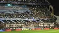 Bandera Messi Bombonera Argentina Peru