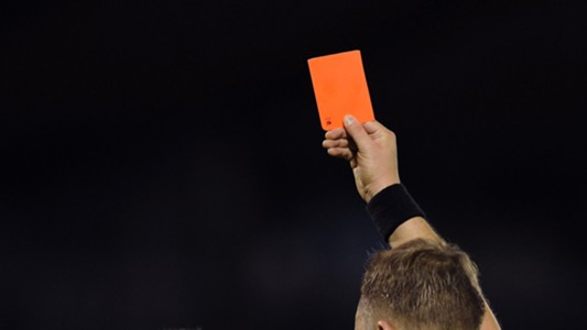 Red Card San Marino England 101013