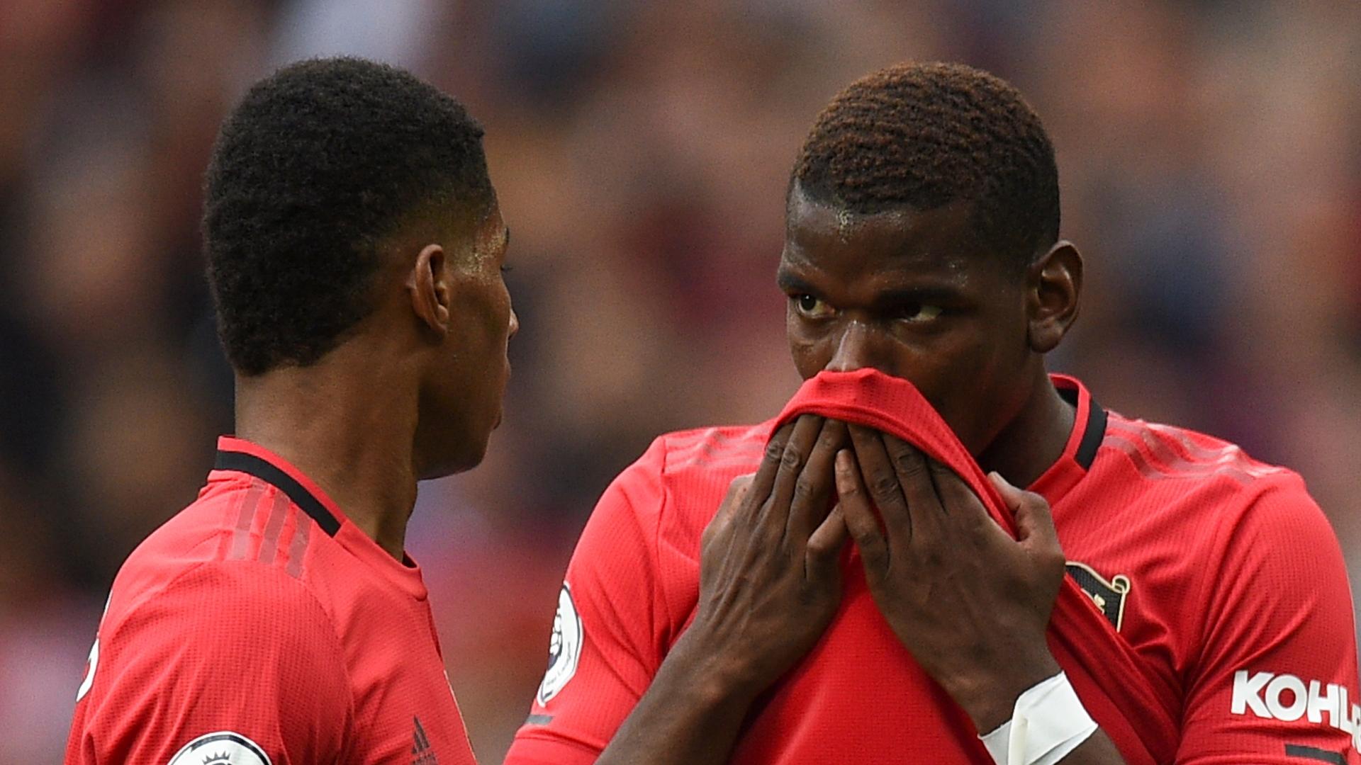 Marcus Rashford, Paul Pogba, Man Utd