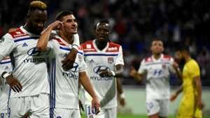 Houssem Aouar Lyon Nantes Ligue 1 29092018