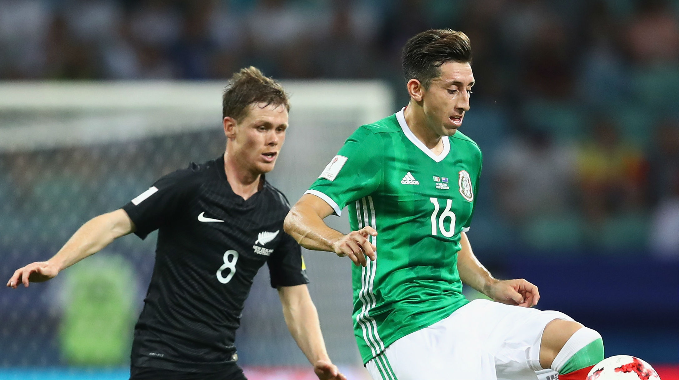 Hector Herrera Mexico New Zealand