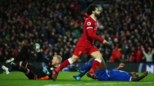 Mohamed Salah Liverpool Leicester City