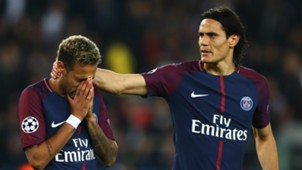 Neymar Edinson Cavani PSG Paris Saint-Germain