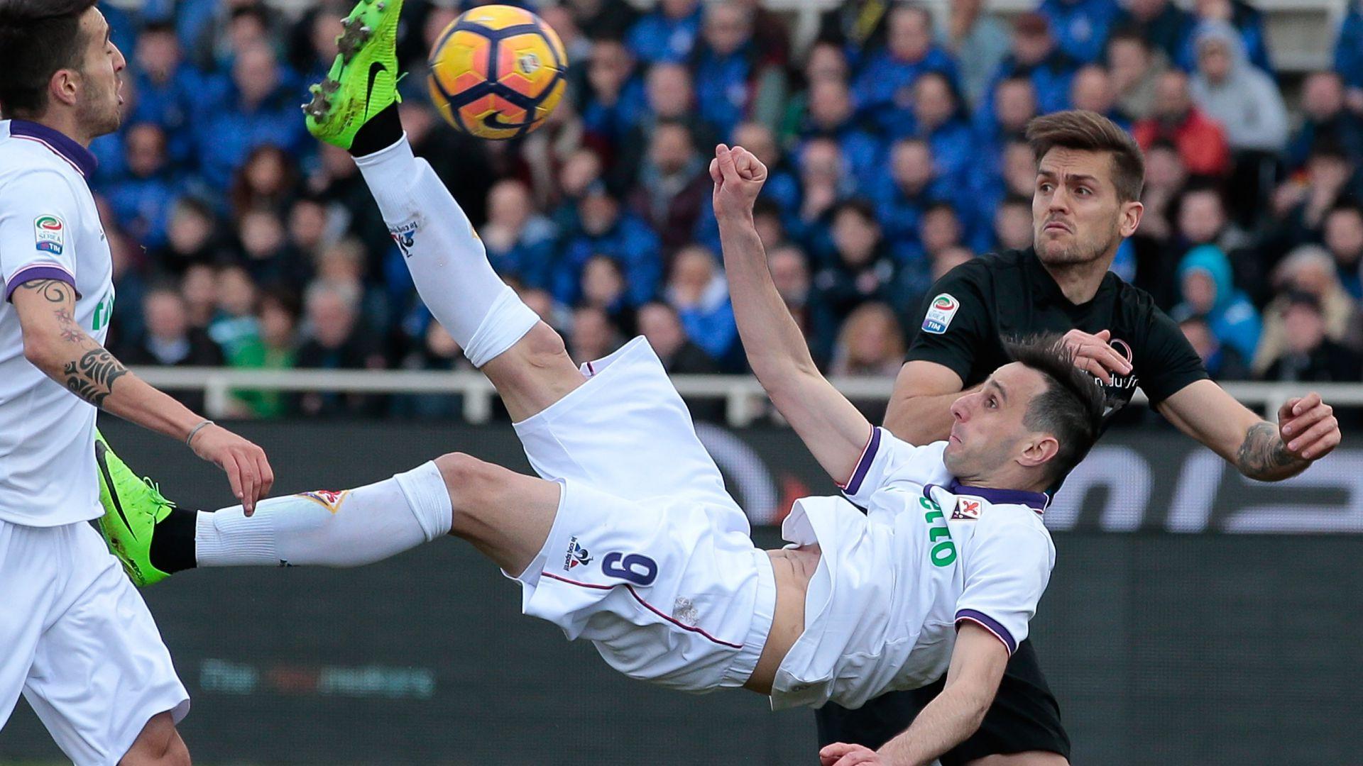 Nikola Kalinic Atalanta Fiorentina Serie A