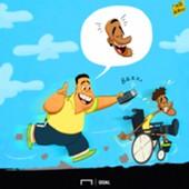 CARTOON Ronaldo & Neymar haircut