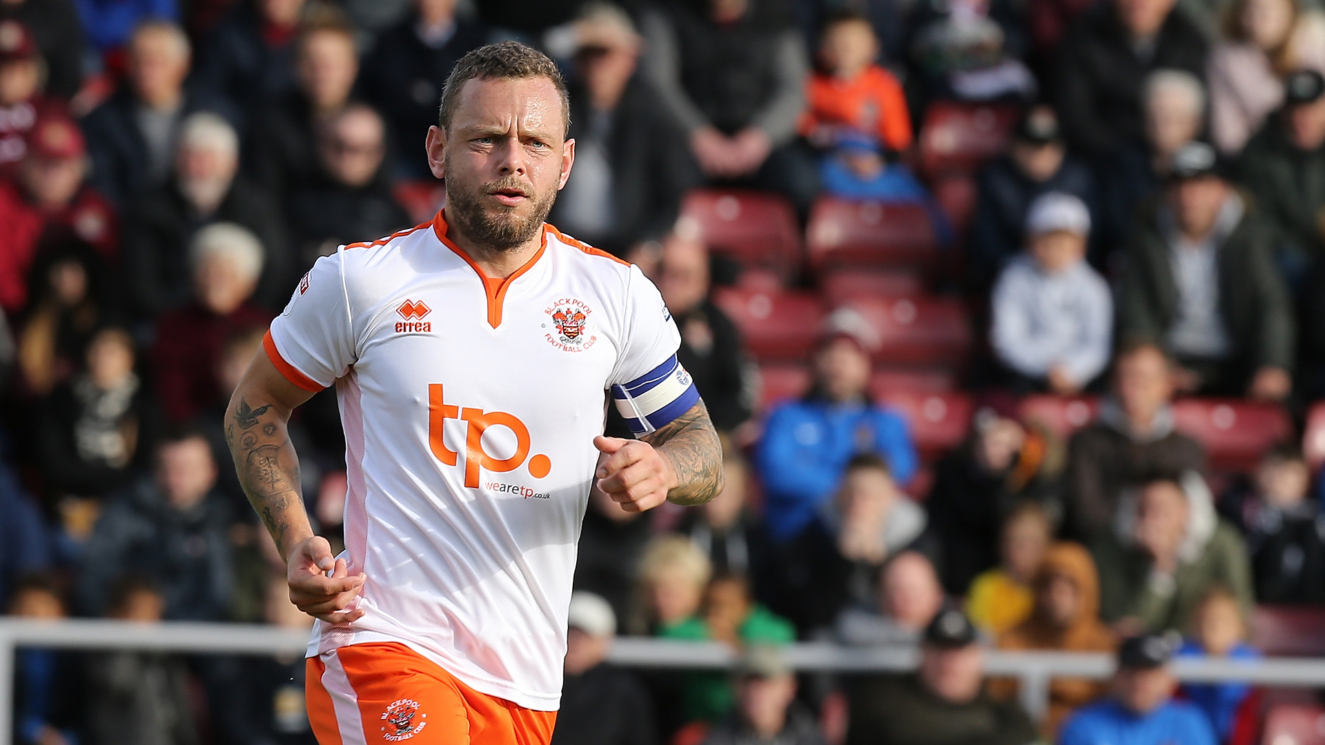 Jay Spearing Blackpool