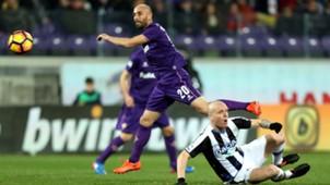 Borja Valero Fiorentina Udinese Serie A